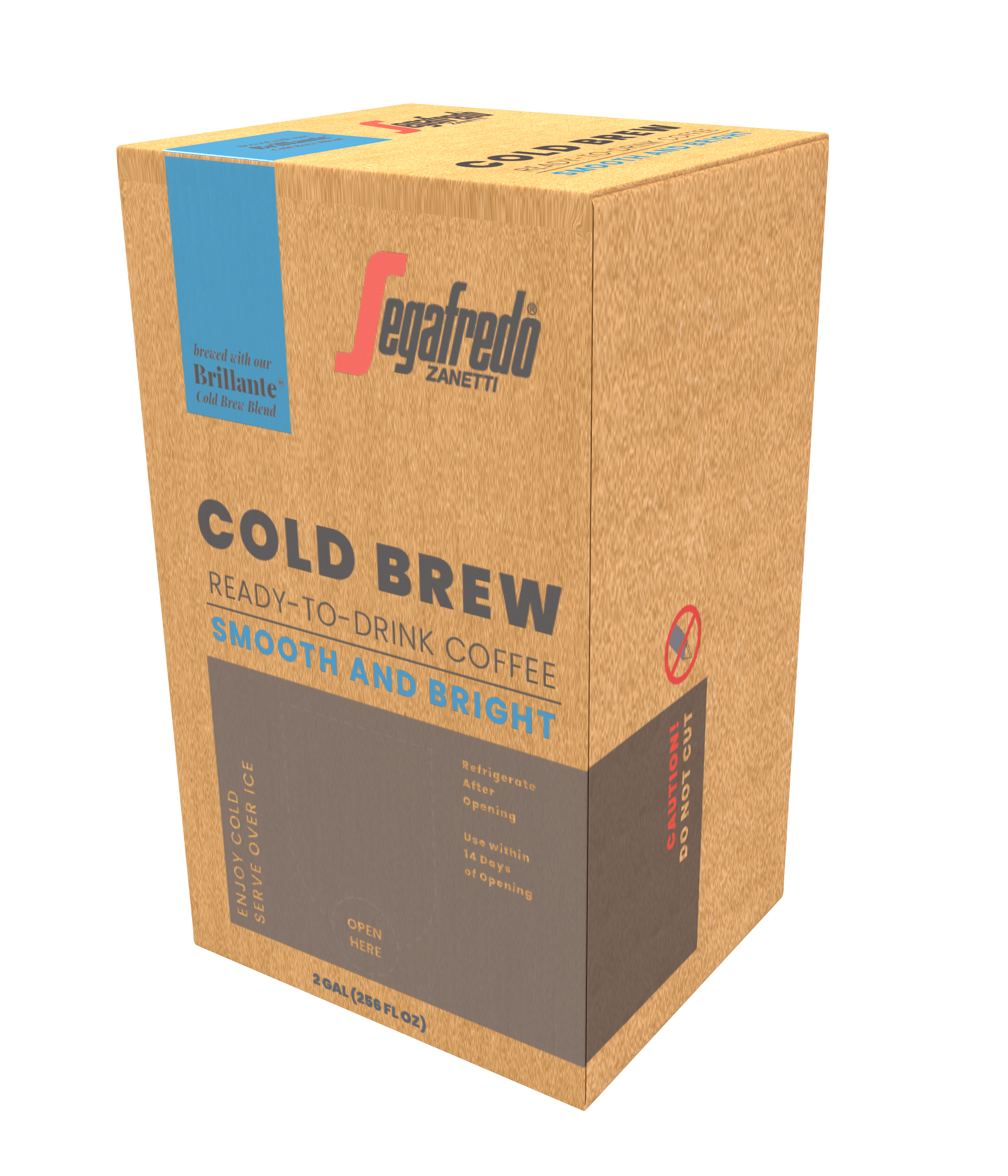 Segafredo Ready-To-Drink Cold Brew Coffee