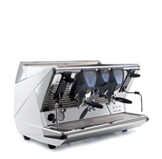 La San Marco 100 Touch 2 Group espresso machine