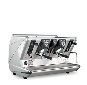 La San Marco 100-E 2 Group espresso machine