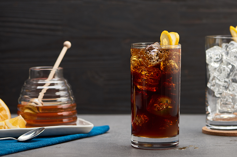 Segafredo Honey Lemon Cold Brew Tonic