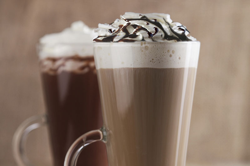 Segafredo Mocha with Chocolate Sauce