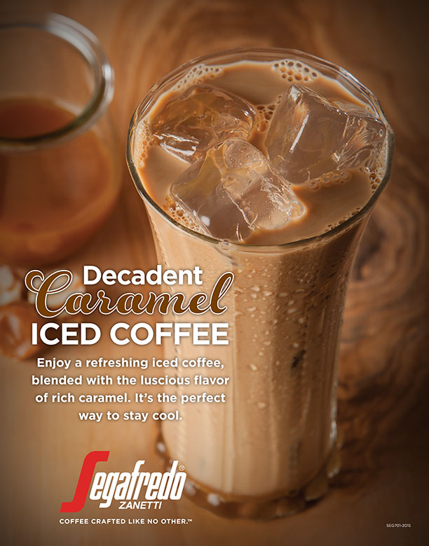 Decadent Caramel Iced Coffee