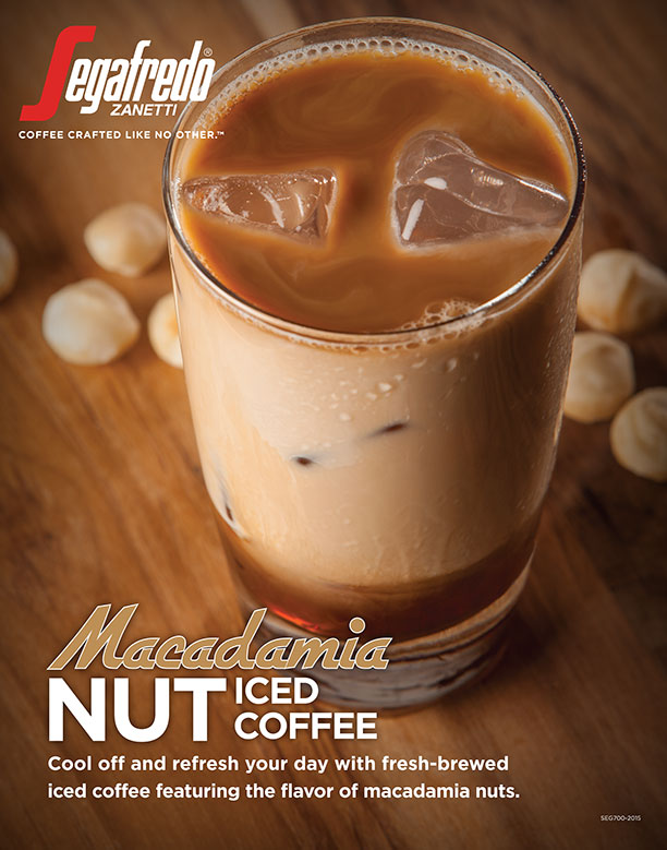 Macadamia Nut Iced Coffee