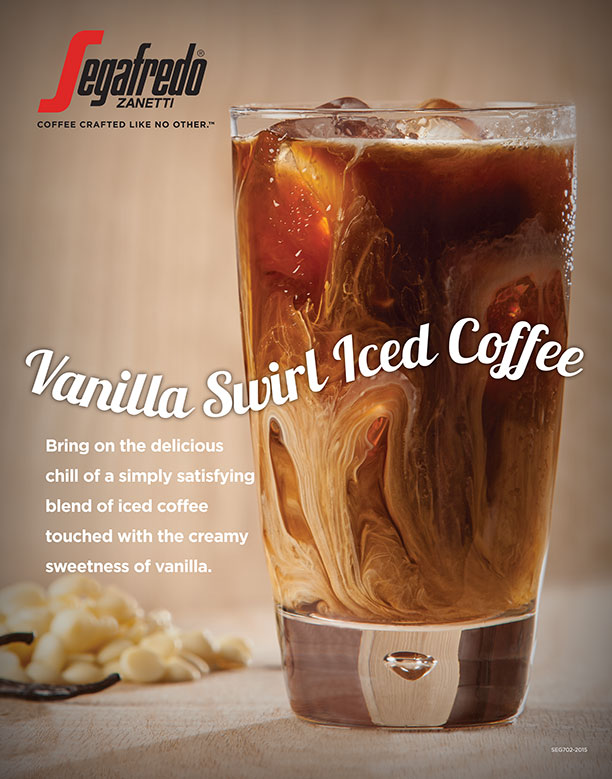 Vanilla Swirl Iced Coffee